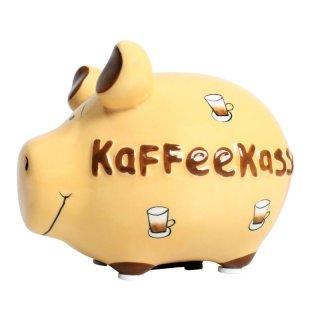 KCG Best of Sparschwein - Kaffeekasse - Keramik handbemalt Spardose