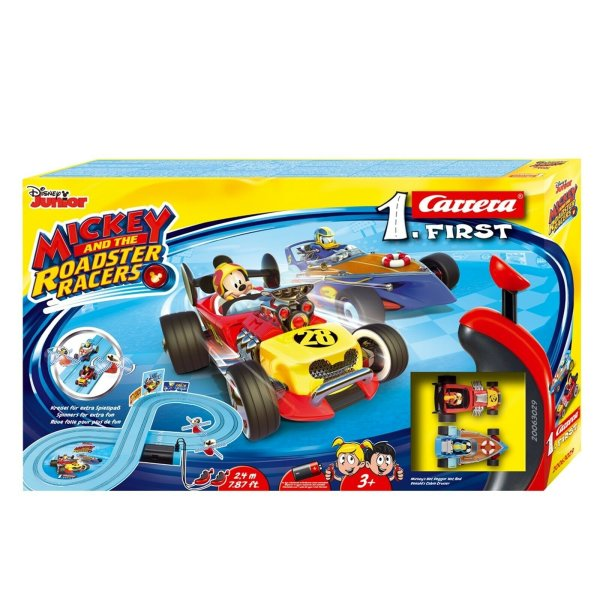 Carrera First Rennbahn Mickey and the Roadster Racers 240cm