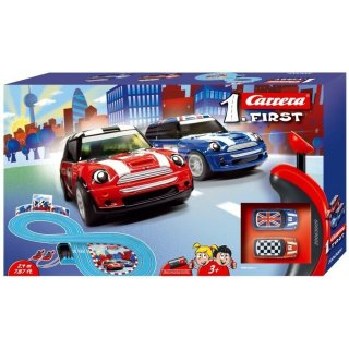 Carrera First Rennbahn MINI Cooper 240cm