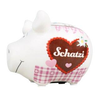 KCG Best of Sparschwein - Schatzi - Keramik handbemalt Spardose
