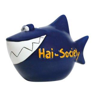 KCG Best of Sparschwein - Sparhai - Hai-Society - Keramik handbemalt Spardose