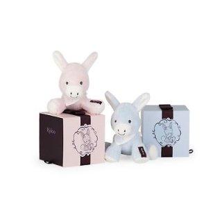 Kaloo Les Amis Babies Esel hellblau Kuscheltier in edler Box Geschenk Geburt
