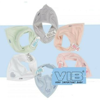 VIB® Baby Bandana Lätzchen Velours Sabberlätzchen doppelt Halstuch verstellbar