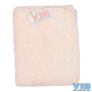 VIB® Baby Decke Wellsoft Very Important Baby lachs 75 x 100 cm Babydecke
