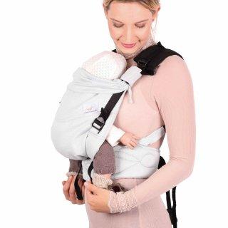 Schmusewolke Babytrage Comfort FullBuckle Mint Baby Bauchtrage Rückentrage