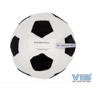 VIB® Baby Plüsch Ball mit Rassel erster Fußball - My First football