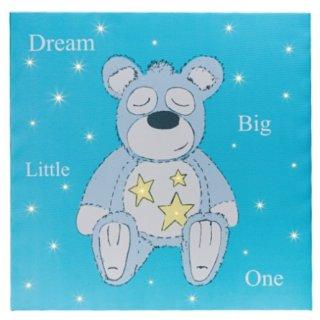 Suki Bedtime Buddies Bär LED Wandbild leuchtend Nachtbild Leinwand Kinderzimmer