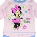 Disney Minnie Mouse Baby Set Hose und Shirt rosa blau 2-Teiler Minnie Maus